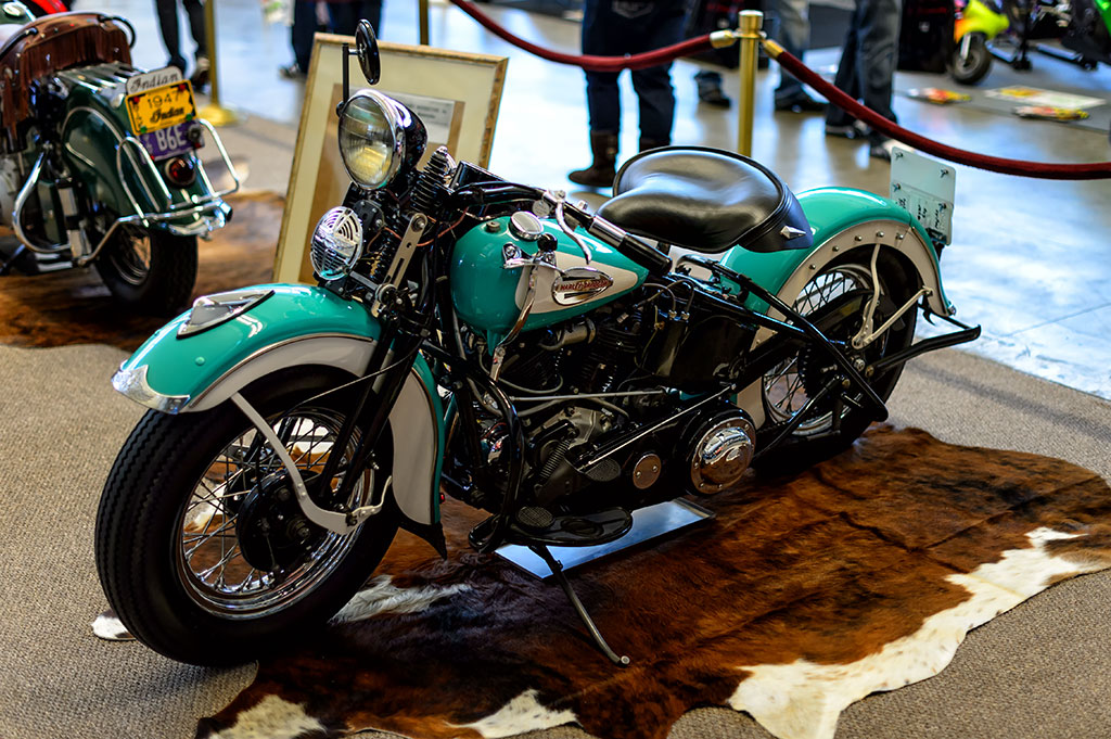 Mark Giles' 1940 Harley Davidson Knucklehead