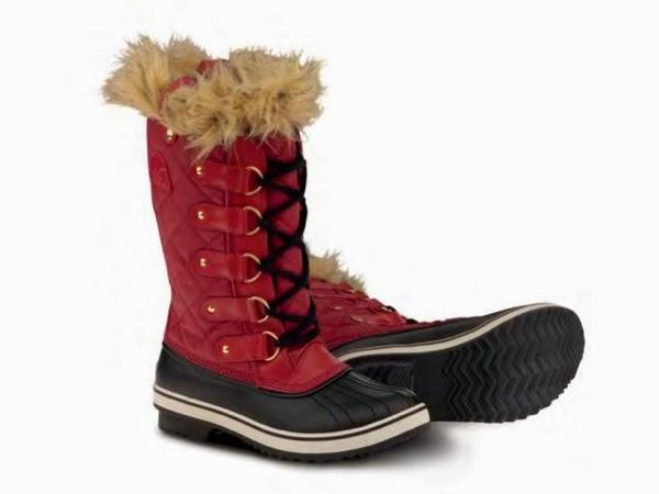 Warm, fashionable winter boots