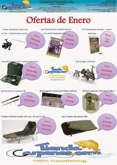 Silver carp blog ofertas de enero tienda carpones - Ofertas canarias enero ...