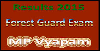 MP Forest Guard Result 2015