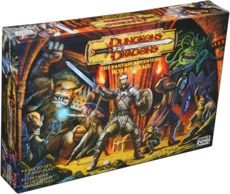 juego de tablero de miniaturas Dungeons and Dragons D&D miniatures board game