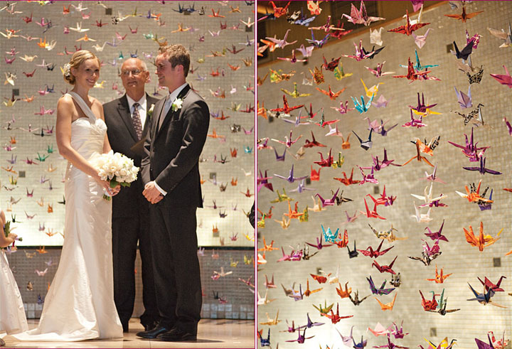 Origami maniacs 11 projects with origami cranes 11 for 1000 paper cranes wedding decoration