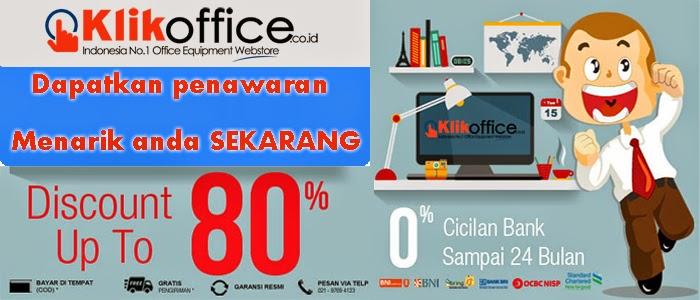 Klikoffice Belanja Online Peralatan dan Perlengkapan Kantor