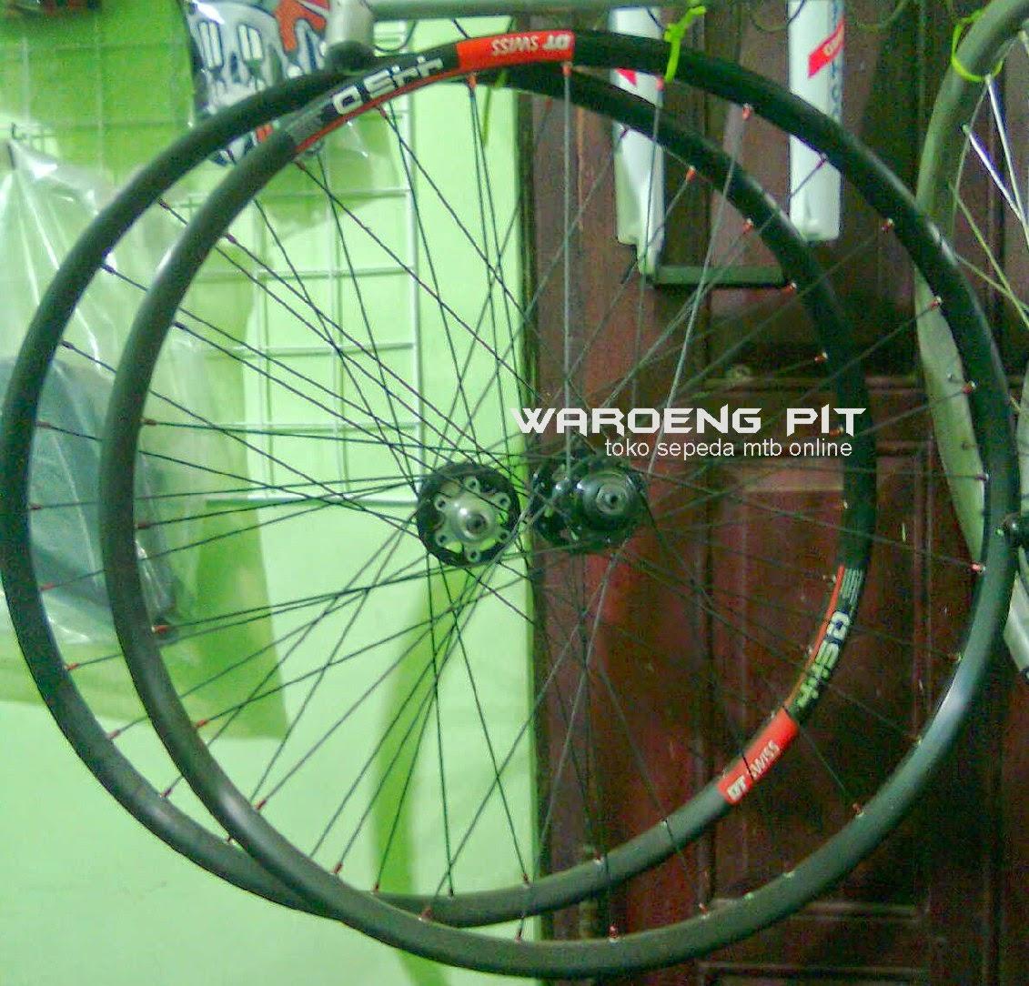 Jual wheelset DT Swiss Pelek Full lengkap Roda lengkap Rotor sepeda gunung mtb mountain bike sip.jpg