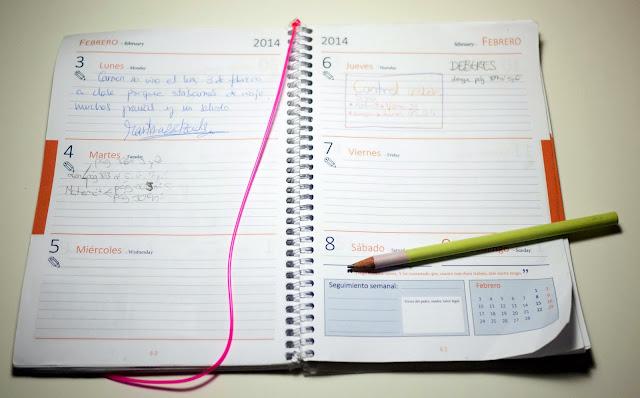 La agenda Escolar para aprender a organizarse