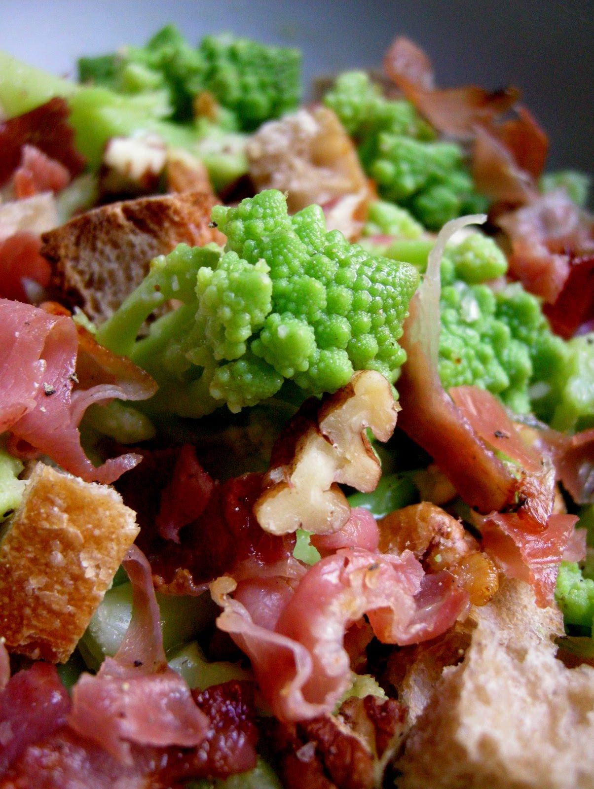 Food box chou romanesco pour une jolie salade - Cuisiner le chou romanesco ...