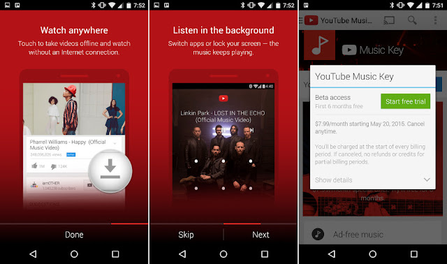 YouTube Music Android v1.04.6 Apk ( Youtube Müzik İndirme )
