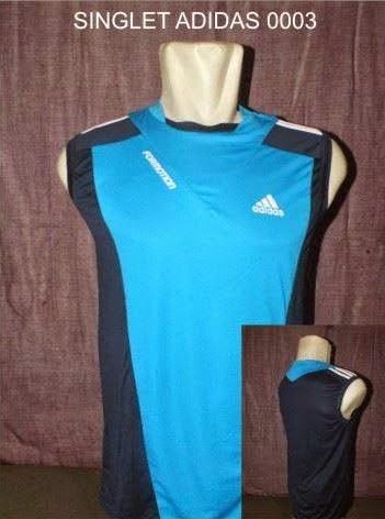 Jual Kaos Futsal Pekanbaru SINGLET ADIDAS 0003