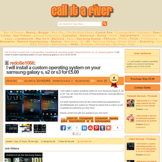 Call It A Fiver - Screenshot - Monetise Skills / Talents Online!