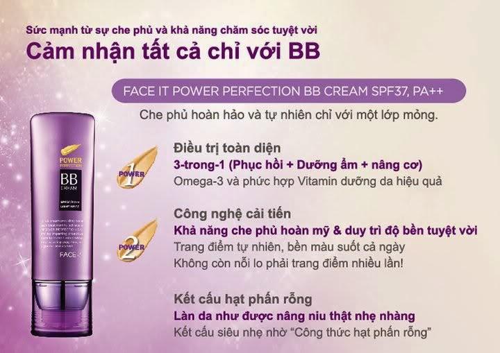 Ưu điểm vượt trội của BB cream The Face Shop
