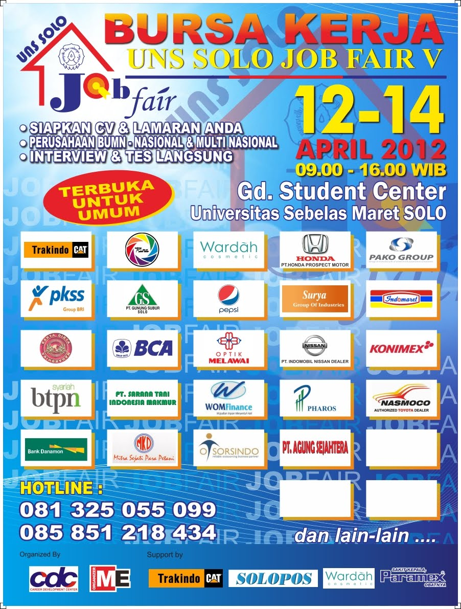 uns solo job fair V 2012