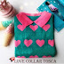 Sweater Korea Love Collar Tosca (Baju Rajut Tebal)