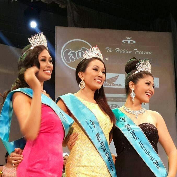 Miss Nepal 2014 winner Subin Limbu