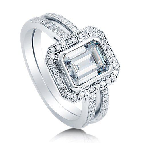zirconia cubic in gold products ring nickel engagement free rings wedding set