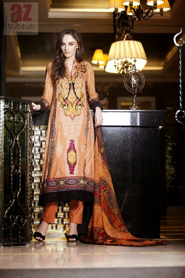 Mahnoor Best Summer Lawn Designs 2014