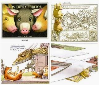 Llibre infantil Los tres cerditos