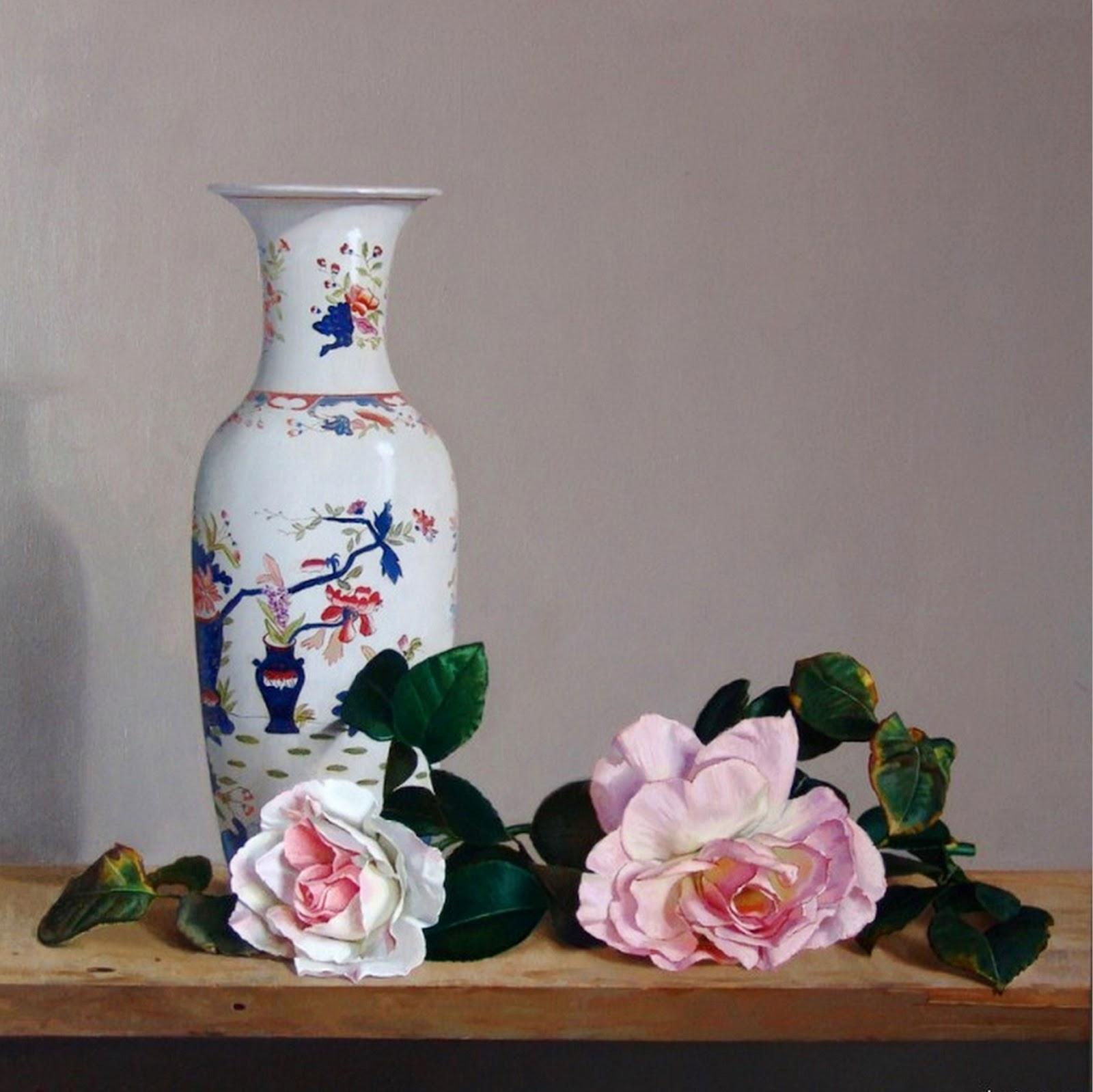 Cuadros modernos cuadros de pinturas al leo de flores - Cuadros de pintura ...