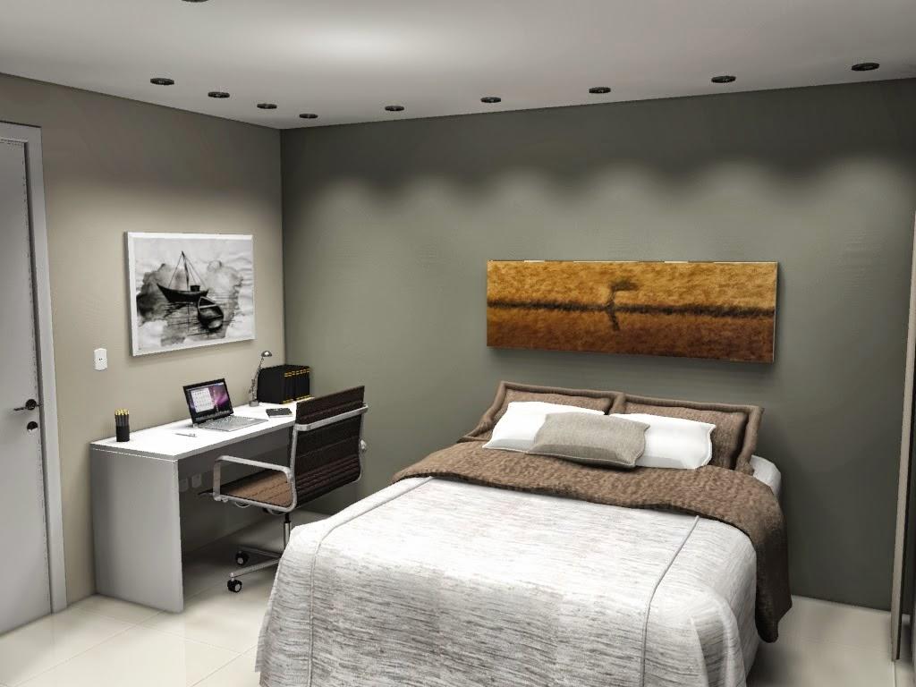 Modelo De Quarto De Solteiro Pequeno Bella Kaza M Veis  ~ Quarto De Solteiro Planejado Para Apartamento Pequeno
