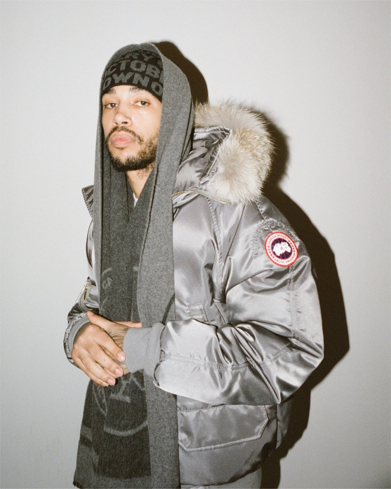 OVO x Canada Goose Flight Satin Chilliwack Bomber
