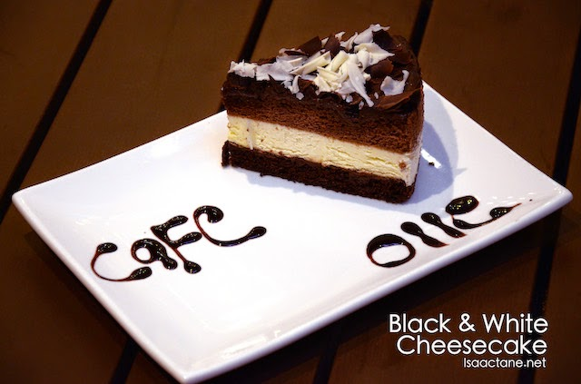 Black & White Cheesecake - RM10
