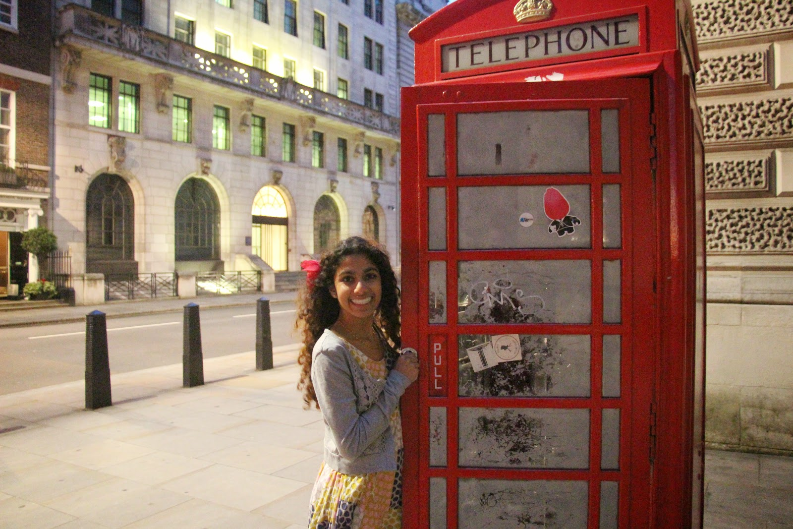 red telephone box london england europe