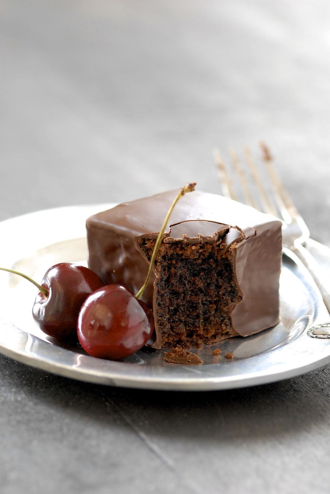 Recipe Redux: Chocolate Mochi Cakes
