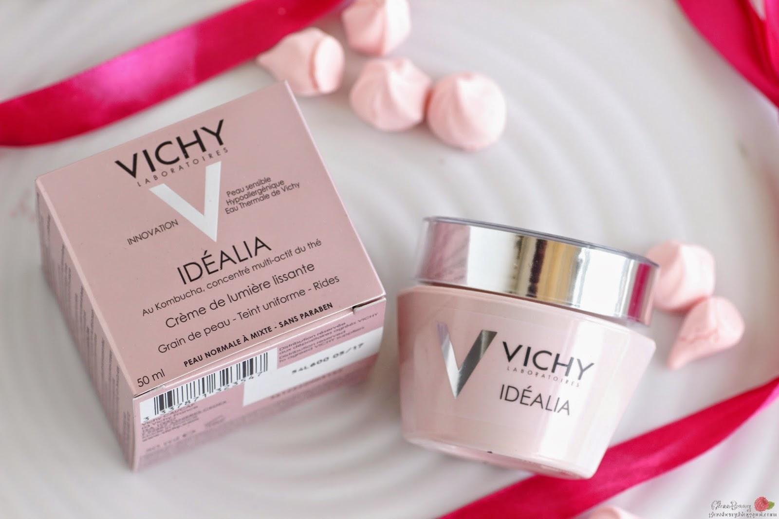vichy idealia cream day anti wri anti aging nkle review סקירה קרם וישי אידיאליה אידיליה ורוד