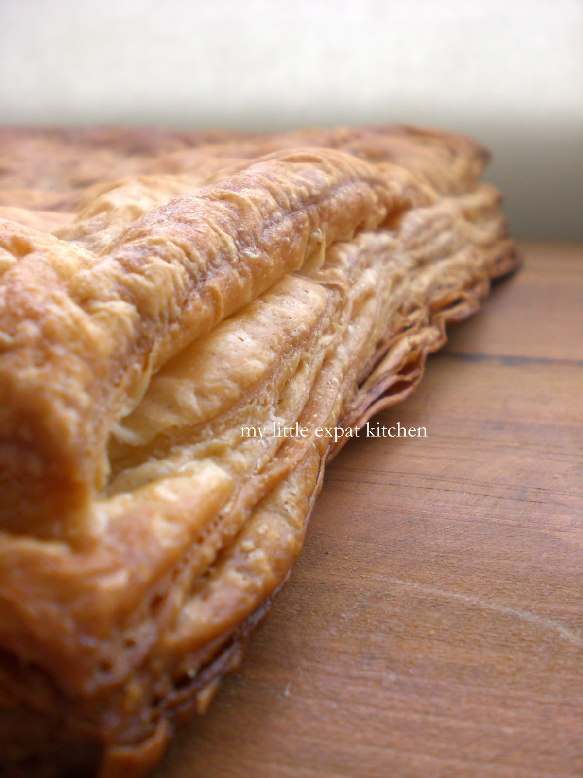 My Little Expat Kitchen: French puff pastry - Pâte feuilletée