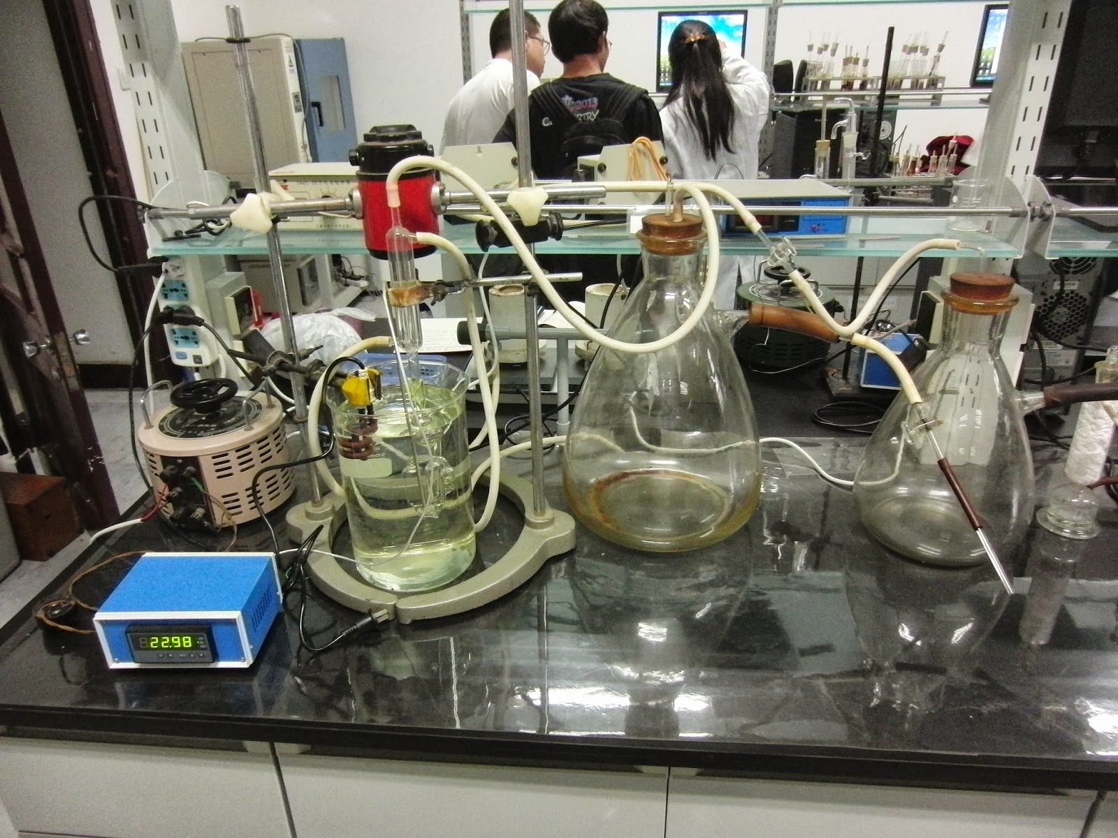 vapor pressure and enthalpy lab This week in lab you will fit a set of vapor pressure vs temperature data to the clausius- clapeyron equation to determine the heat of vaporization of an unknown liquid, shown in figure 4.