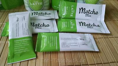 Bünting Matcha Mix for Latte - der Dosen-Inhalt