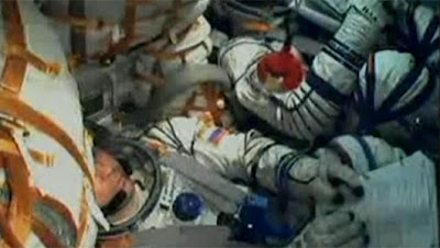 Angry Birds on the Soyuz