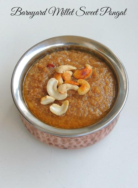 Kuthiravali Sweet Pongal, Barnyard Millet SweetPongal