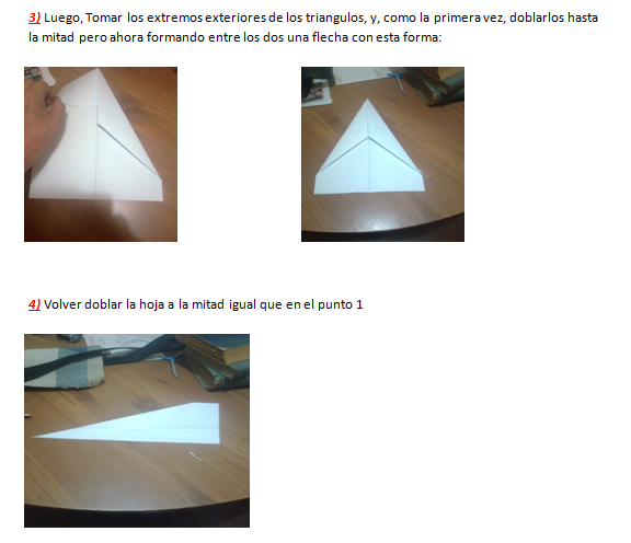 Blog Escolar: Instructivo de como hacer un avion de papel