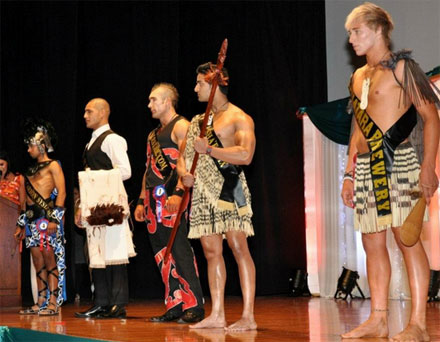 Mister New Zealand 2012 Courtenay Bernard