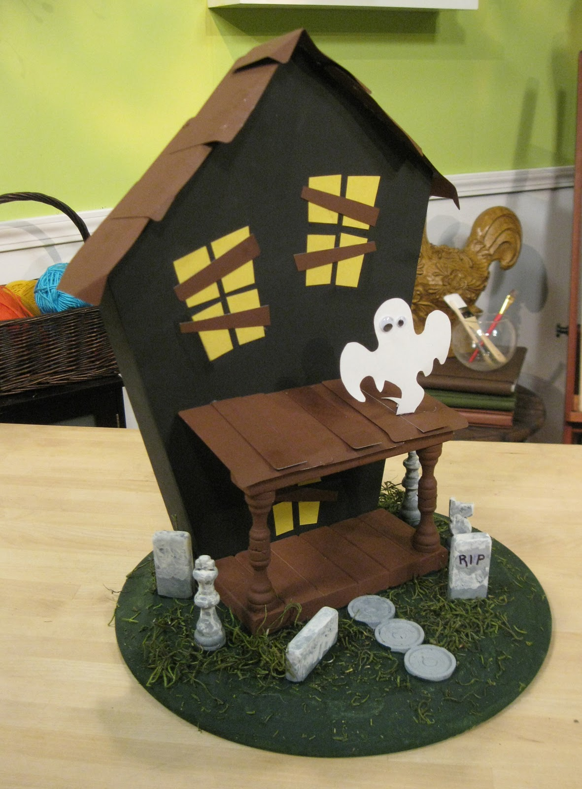 dave lowe design the blog 25 days til halloween game board