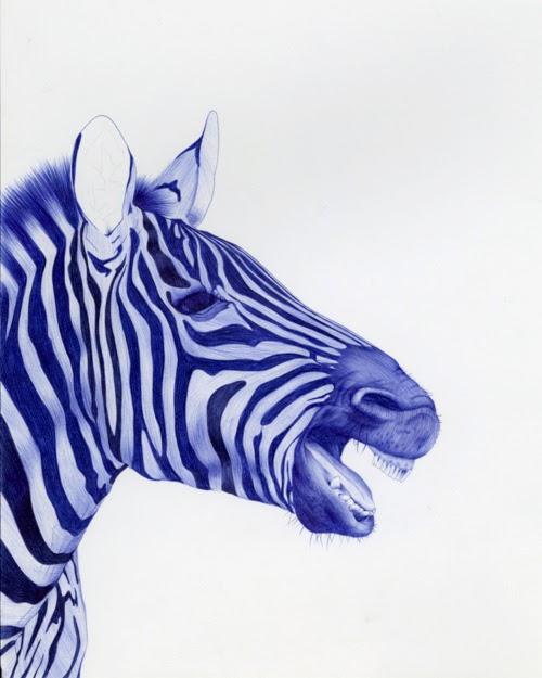 18-Zebra-Sarah-Esteje-ABADIDABOU-Hyper-realistic-Ballpoint-Pen-Animals-www-designstack-co