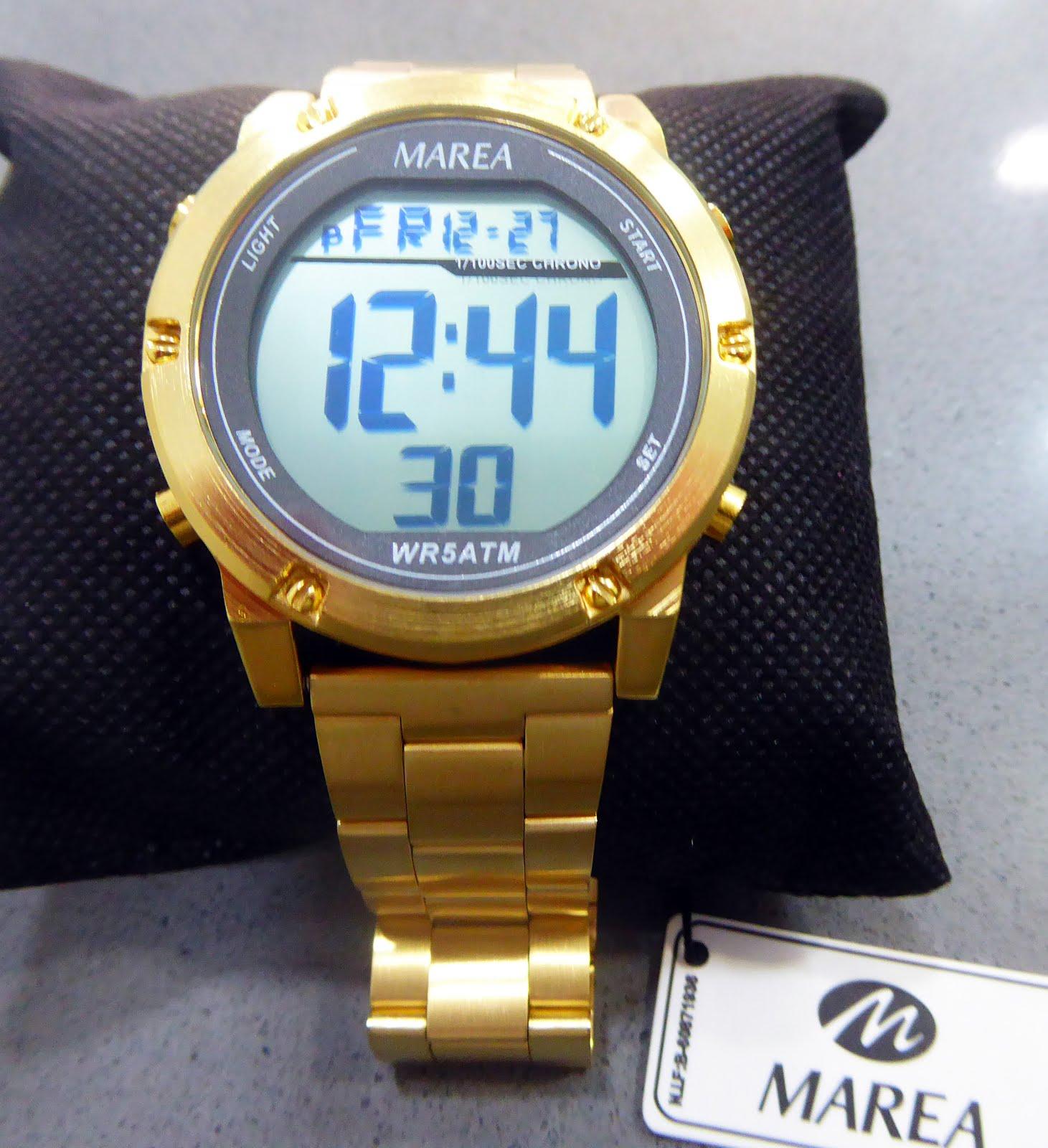 Reloj Marea digital tamaño grande