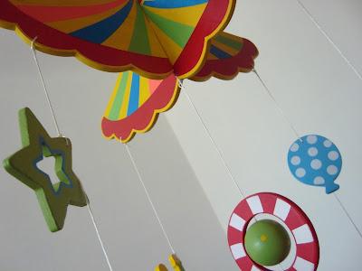 Dekoracja 3D Cyrk  Petite France