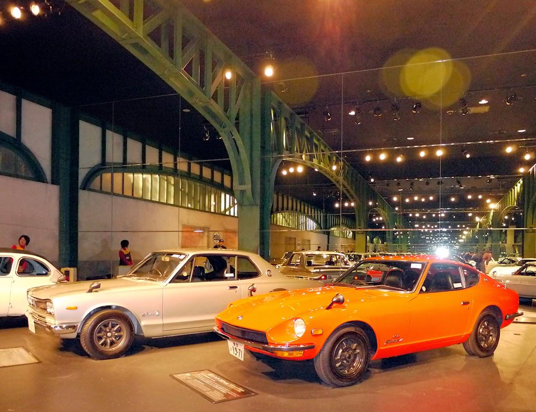 long longtime vintage cars mega web history garage odaiba tokyo japan. Black Bedroom Furniture Sets. Home Design Ideas