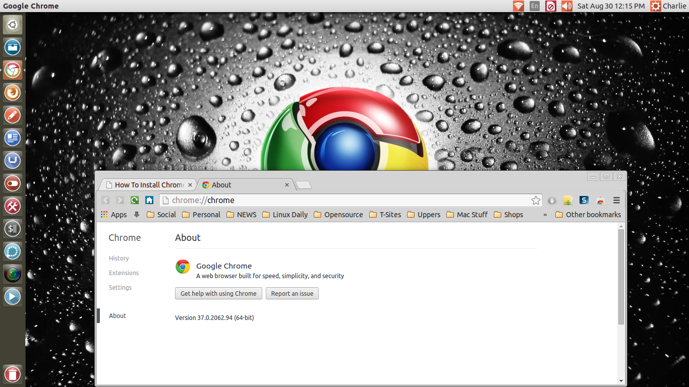 Ubuntu Alive, Explore, And Learn: How To Install Google Chrome 37 Stable On