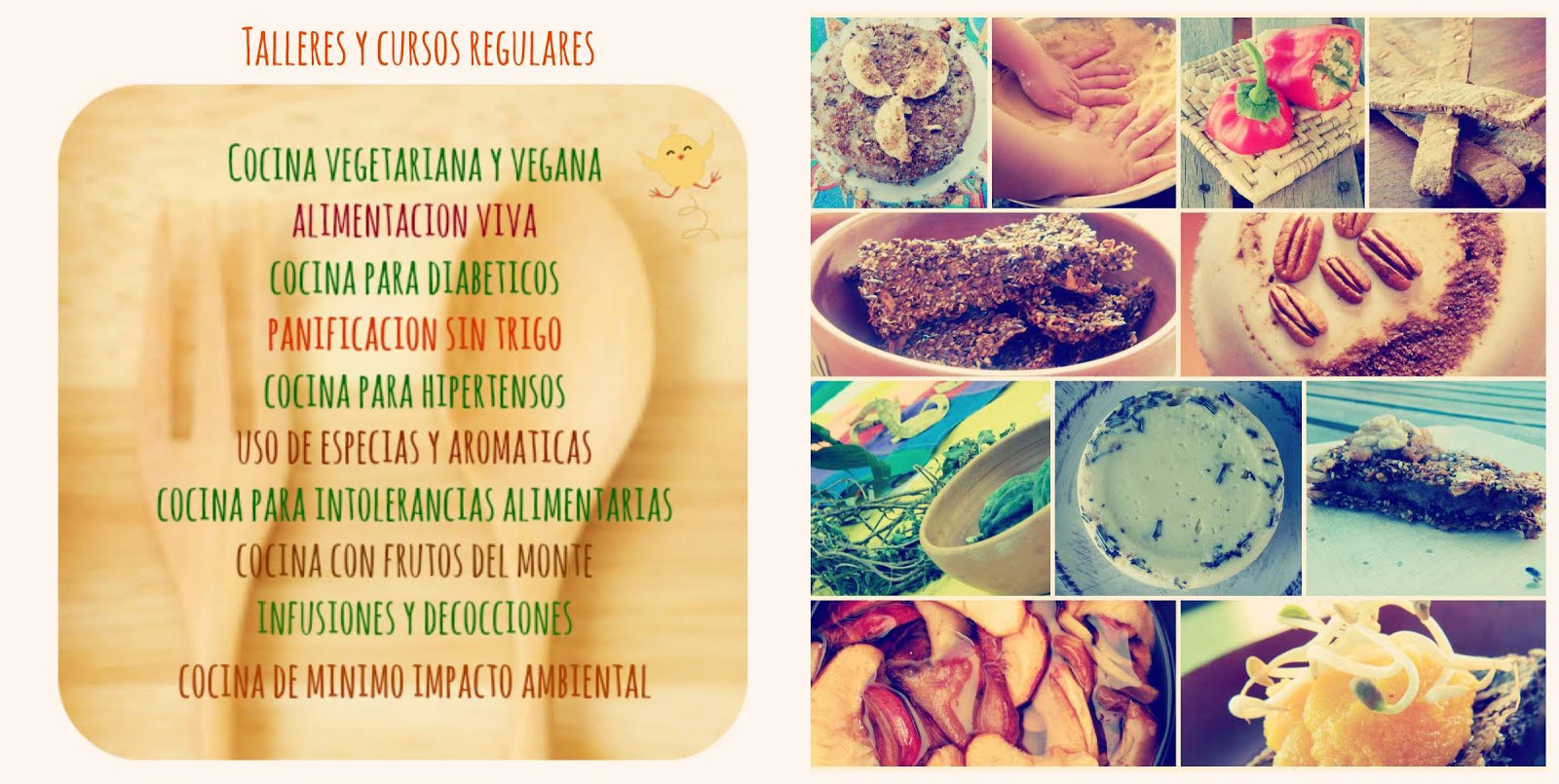 Fascinate con la cocina vegetal!