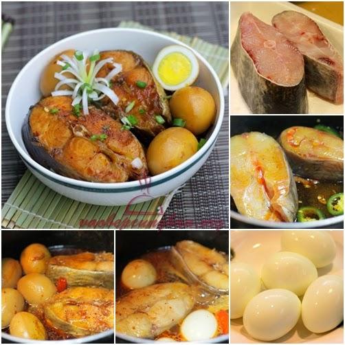 Món cá basa kho tàu với trứng cực ghiền 1