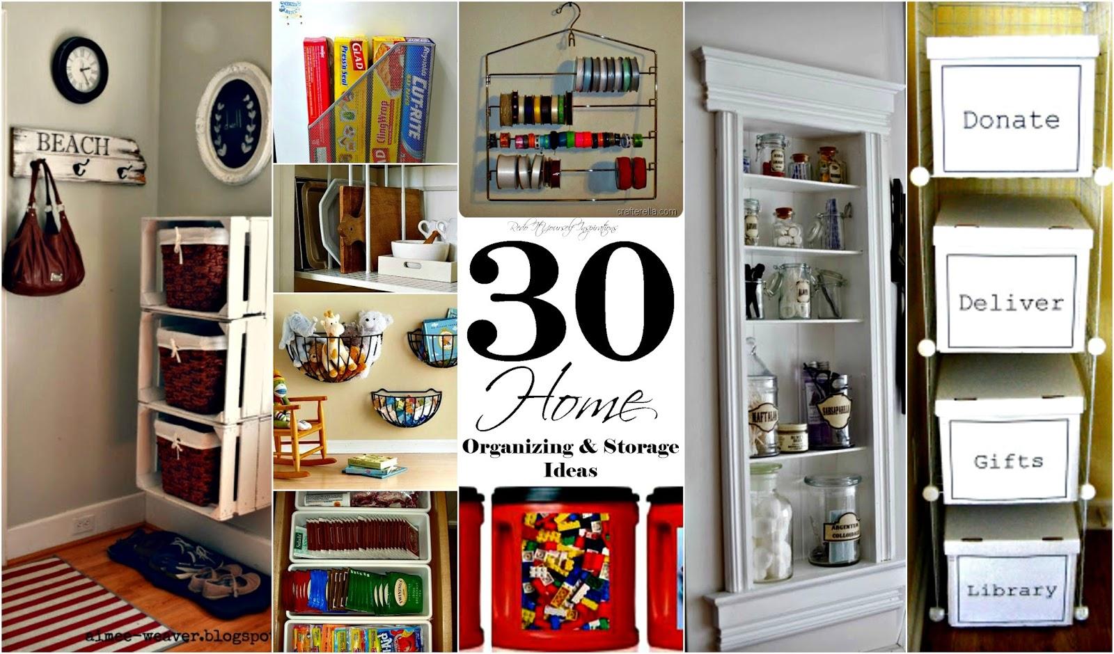 Home organizing and storage ideas redo it yourself House organization ideas