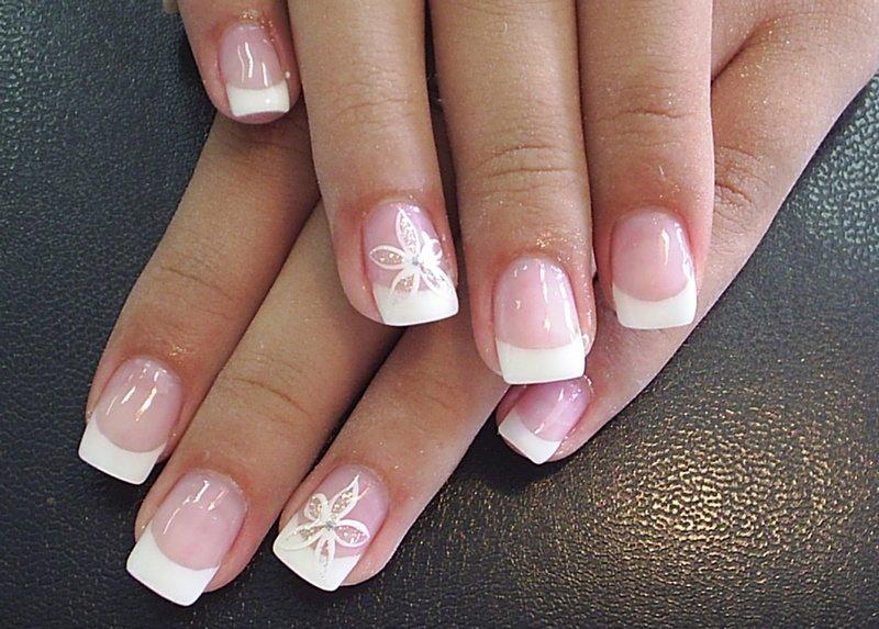 French Manicure Design 2013 14