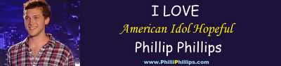 telephone number to vote for American Idol text Phillip Phillips