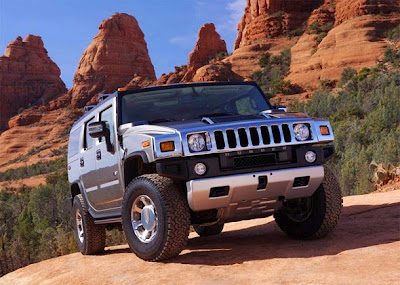 2015 Hummer H2 Front View Model