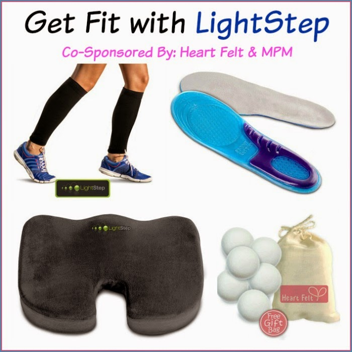 Enter the Get Fit with LightStep Giveaway. Ends 4/2