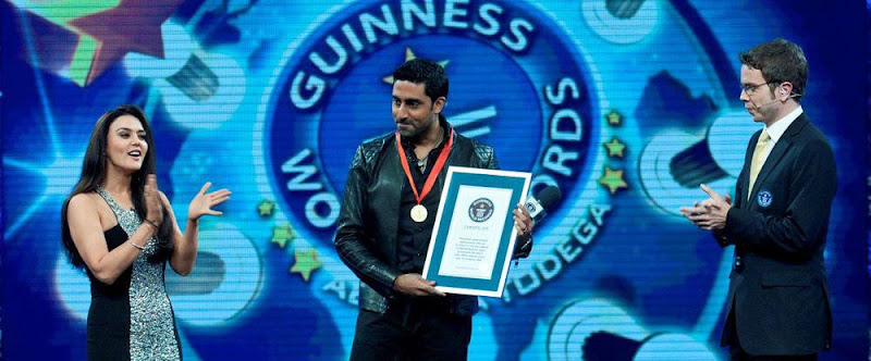 Abhishek Bachchan At Guinness World Records Latest PicsPhotos show stills