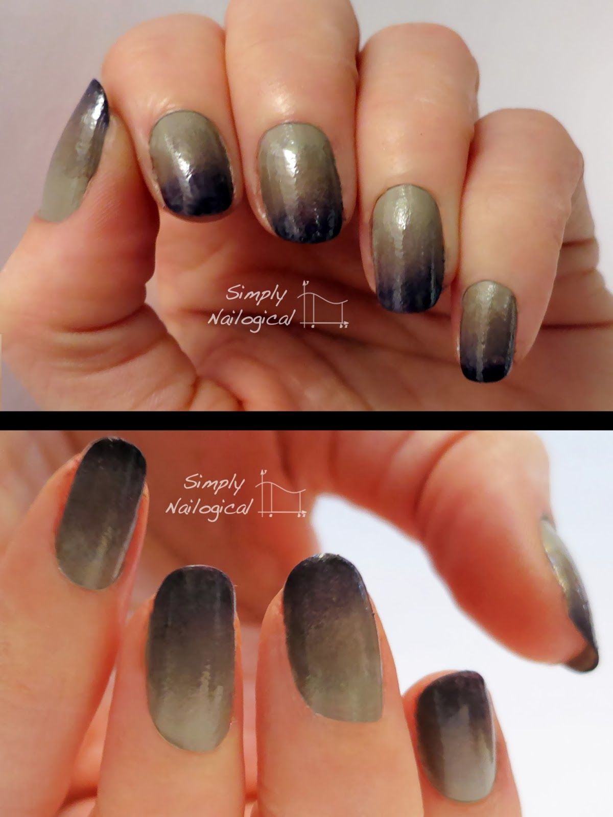 Simply Nailogical: Work appropriate mani Monday: Neutral ombre