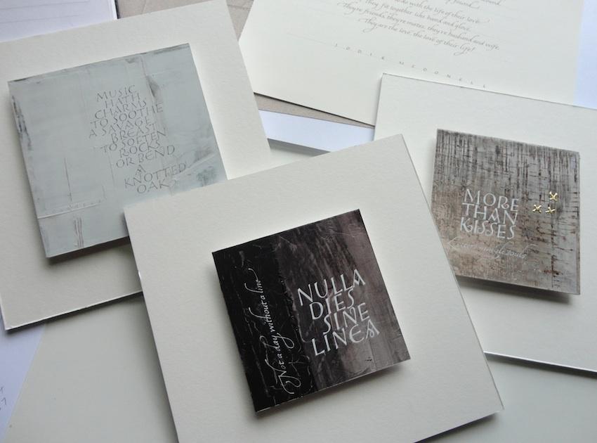 GEMMA BLACK calligraphic designer artist teacher December 2012